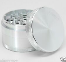 Sharpstone Herb & Tobacco Grinder 2.5 Inch 4 Piece Aluminum Authentic New Silver