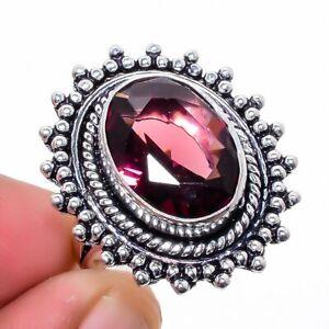 Amethyst Gemstone 925 Sterling Silver Jewelry Ring s.6 M1467