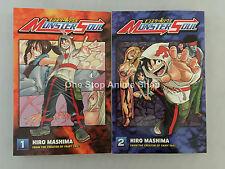Monster Soul (Vol. 1 - 2)  English Manga Graphic Novels Set Brand NEW