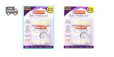 2 Packs Of The Doctor's BrushPicks Interdental Toothpicks - 275Picks per pack