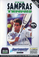 ## Pete Sampras Tennis - SEGA Mega Drive / MD Spiel - TOP ##