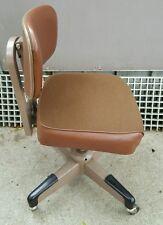 Vintage HON Industrial Tanker Office Steel Desk Chair