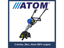 Atom 438 Petrol Lawn Edger  2-Stroke Only with Free Shipping