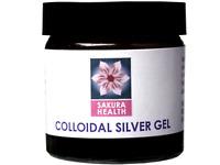 Natural Colloidal Silver Gel 60ml - Sakura Health
