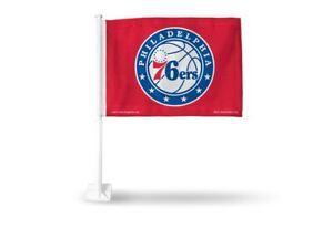 Philadelphia 76ers NBA 11X14 Window Mount 2-Sided Car Flag
