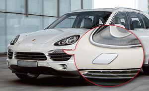 Premium Head Light Washer Trim Cap for Porsche Cayenne Chrome Type 958