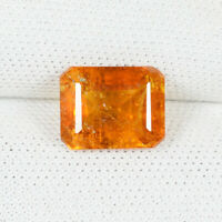 2.01 ct  WONDERFUL RARE ORANGE YELLOW COLOR 100%  NATURAL CLINOHUMITE See Vdo