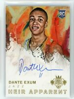 2014-15 Dante Exum 08/130 Auto Panini Court Kings Rookie RC Heir Apparent