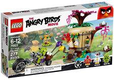 LEGO The Angry Birds Movie 75823 Birds Island Egg Heist (New Sealed)