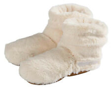 Warmies ® Beddy Bears™ Slippies® Boots Deluxe beige Gr. 37-42