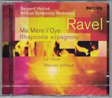 Bernard HAITINK: RAVEL Ma Mere l'Oye Rhapsodie Espagnole La Valse Menuet antique