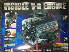 +++ Revell US Monogram 1/4 Visible V-8 Engine 85-8883 8883