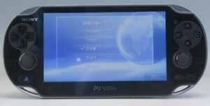 SONY PS Vita Console only PCH -1000 Black+memory card conversion adapter F/S