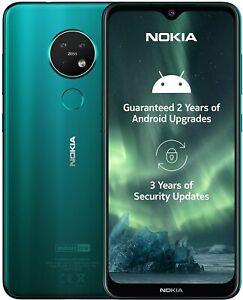 "Nokia 7.2 6.3"" Green 4GB 64GB LATEST Android 10 WiFi Dual Sim Unlocked/SimFree A"