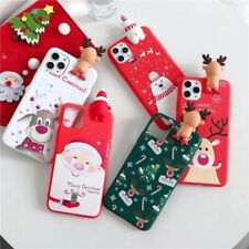 Christmas Soft Phone Case For iphone 11 Smartphone Cover Pro Max 12 X XS XR 2020