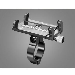 Bicycle Holder Alloy Motorcycle Bike Handlebar for Cell Phone GPS Mount