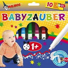 Malinos Babyzauber 10 bunte Malstifte Kinder (ab 1 Jahr)