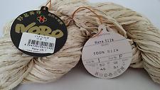 400 g Hana Silk Noro 100 % Seide Farbe 1 ecru beige