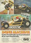 X7756 Fuoristrada Dune Machine - GIG - Pubblicità 1980 - Vintage Advertising
