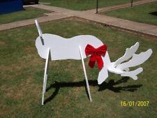 3 D REINDEER CHRISTMAS YARD ART WOODWORKING PLANS PATTERN LADIES BOHO BOOTS