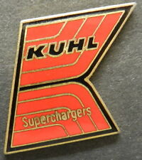 KUHL SUPERCHARGERS CHEVY FORD DODGE FC TF HAT JACKET PIN NHRA DRAG RACING