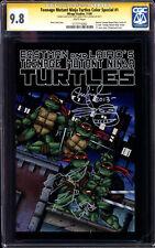 Teenage Mutant Ninja Turtles 1 Color Spec CGC SS 9.8 Peter Laird TMNT Mirage