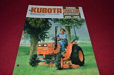 Kubota B9200 HST Tractor Dealers Brochure DCPA2