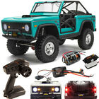 Axial AXI03014T1 1/10 SCX10 III Early Ford Bronco 4WD RTR Crawler Turquoise Blue
