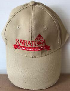 2015 Saratoga Race Course / Race Track Baseball Cap / Hat - New / Unused