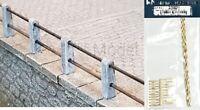 WEINERT 33821 - Kit di montaggio ringhiera in metallo con paletti in cemento. 40