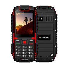 Outdoor Handy 2.4 Zoll Wasserdicht Tastenhandy Robust Dual SIM-Kamera MP3 Radio