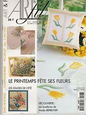 Art & Fil Broderie Tapisserie N°7 Avril 2000 printemps