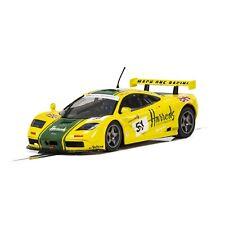 NEW Scalextric McLaren F1 GTR 1995 LeMans Harrods DPR 1/32 Slot Car FREE SHIP