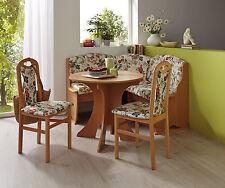 Eckbankgruppe Tabea 4 teilig Rundtisch Küchengarnitur Essgarnitur Tischgruppe