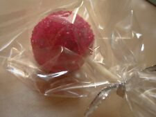 "Cake pop polypropylene bags 3 x 6"" wrapping Cello bags #100"