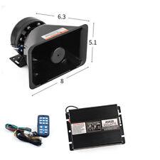400W Loud Car Police Fire Warning Siren Horn Wireless Amplifier PA MIC System