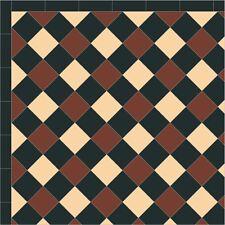 Unglazed Victorian floor  tiles interior& exterior 10cmx10cm -£ 74.00 per sqm