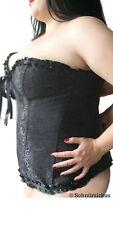 Corsage in Übergröße | schwarz | passend für Kleidergröße 60