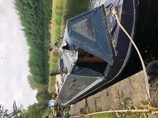 45ft trad narrowboat project