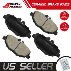 Rear Brake Pad Set For 2003-2009 Mercedes E320 2008 2004 2005 2006 2007 F847PW