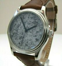 ETA 2840 automatic wrist watch with real stone dial. NOS swiss made