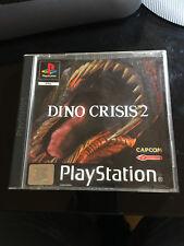 Jeu vidéo Dino Crisis 2 Playstation Sony PS1 verison PAL Italien