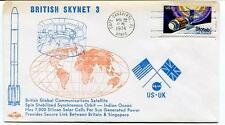 1974 British Skynet 3 Global Communications Satellite Orbit Indian Ocean US-UK