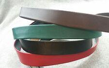 Vintage Leather BeltsLot No Buckles green brown black and red