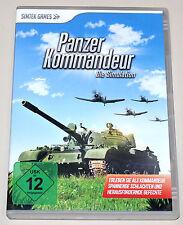 PANZER KOMMANDEUR - DIE SIMULATION - PC SPIEL - NEUWERTIG - STRATEGIE GENERAL