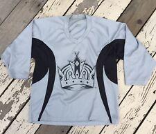 NHL Los Angeles Kings Hockey • Adult Senior Crown Logo JERSEY XS • X-Small