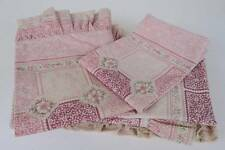 Sheridan Pink Floral Single Bed Quilt Cover + Pillowcase Set Made in Australia