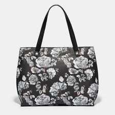 New Fiorelli Hampton Large Grab Hand bag Handbag Botanical Black flower designs