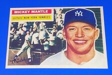 1966 Topps Baseball Mickey Mantle Reprint Card #135 New York Yankees MLB HOF