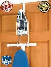 Iron Caddy Ironing Board Holder Hanger Wall Mount Small Apartment Board Organize